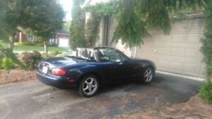 MAZDA MIATA 2003 DECAPOTABLE