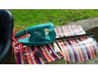 2 x bosch hedge trimmers