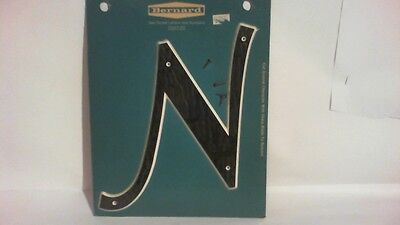 Vintage ( 1980s ) Plastic boat letter ( N ) 8 inch tall