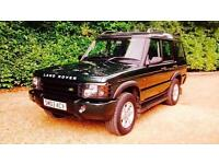 2003 Land Rover Discovery GS TD5 7 SEAT Auto Green 97 K Miles Warranted