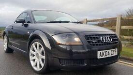 2004 Audi TT 1.8 T Quattro 3dr + FULL SERVIVE HISTORY + TIMIMG BELT + LONG MOT
