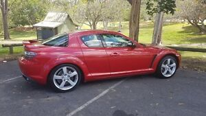 2003 Mazda RX-8 8 8 Red 5 Speed 5 SP Automatic + O/Drive Hatchback Springwood Logan Area Preview