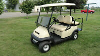 CLUB CAR 2011 PRECEDENT GOLF CARTS W/REAR FLIP SEAT &  LIGHTS