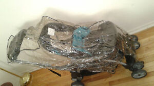 Bundle! Double stroller, infant car seat and booster seat! Kingston Kingston Area image 2