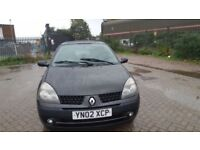 RENAULT CLIO DYNAMIQUE 1.2L SPARES AND REPAIRS