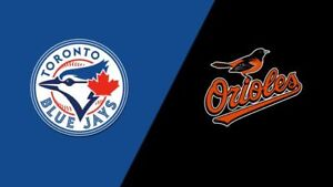 Blue Jays vs Orioles - August 21 (Sec 210 Row 1)