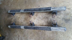 Jeep wrangler 4 door step bars