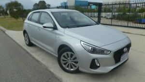 2018 Hyundai i30 PD MY18 Go D-CT Silver Mica 7 Speed Sports Automatic Dual Clutch Hatchback Bassendean Bassendean Area Preview