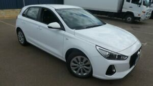 2018 Hyundai i30 PD MY18 Go D-CT White 7 Speed Sports Automatic Dual Clutch Hatchback Bassendean Bassendean Area Preview