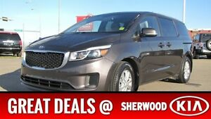 2016 Kia Sedona LX Heated Seats,  Back-up Cam,  Bluetooth,  A/C,