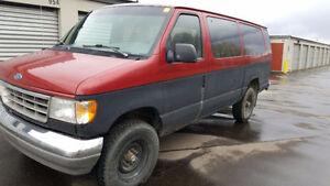 1996 Ford E-350 Minivan, Van