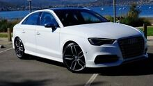 2015 Audi S3 8V MY16 S tronic quattro White 6 Speed Sports Automatic Dual Clutch Sedan Hobart CBD Hobart City Preview