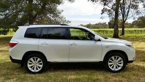 2013 Toyota Kluger GSU40R MY12 Altitude 2WD White 5 Speed Sports Automatic Wagon Tanunda Barossa Area Preview