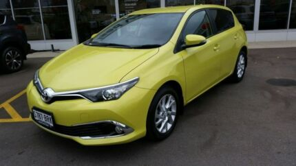 2016 Toyota Corolla ZRE182R Ascent Sport Yellow 6 Speed Manual Hatchback Blair Athol Port Adelaide Area Preview