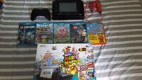 Nintendo Wii U deluxe (32 gig) with extras