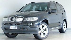2006 BMW X5 E53 MY06 d Steptronic Black 6 Speed Sports Automatic Wagon Hobart CBD Hobart City Preview