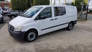 2012 Mercedes-Benz Vito 639 MY11 113CDI LWB White 5 Speed Automatic Van Acacia Ridge Brisbane South West Preview