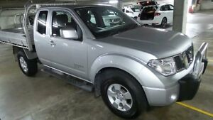 2013 Nissan Navara D40 S6 MY12 ST-X Brilliant Silver 5 Speed Automatic 4D CAB CHASSIS Artarmon Willoughby Area Preview