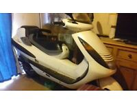 2001 51 plate hyosung hyper maxi scooter 125cc no mot spares/repairs £250 no offers