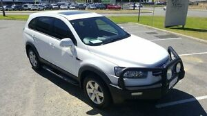 2012 Holden Captiva CG Series II 7 SX (FWD) White 6 Speed Automatic Wagon Maddington Gosnells Area Preview