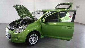 2010 Hyundai i20 PB Active Green 5 Speed Manual Hatchback Frankston Frankston Area Preview
