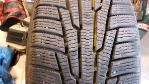 225 40 18 HERCULES WINTER TIRES SET OF 2--LIKE NEW!