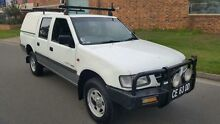 1999 Holden Rodeo TFR9 LT White 5 Speed Manual Crewcab Condell Park Bankstown Area Preview