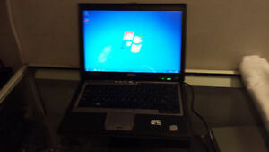 Used Dell Latitude D630 Core 2 Duo Business Laptop with Wireless