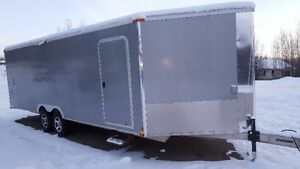 Triton Enclosed Trailer- Heavy Duty Aluminum Toy Hauler PR-HD 24