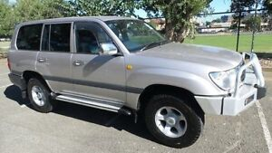 1999 Toyota Landcruiser FZJ105R GXL (4x4) Silver 4 Speed Automatic 4x4 Wagon Granville Parramatta Area Preview