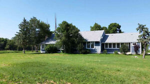 Riverfront country home for rent