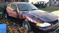 1995 FORD MUSTANG .....PARTING OUT ONLY