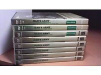 DAD'S ARMY SEASONS 1-9 COMPLETE-MINT CONDITION. 13 x DVD'S