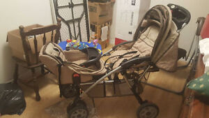 Double Stroller 1st safety like new
