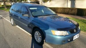 2004 Holden Commodore VY II Executive Blue 4 Speed Automatic Wagon Nailsworth Prospect Area Preview