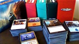 643-Card Magic: The Gathering Collection + Legal Containers $40