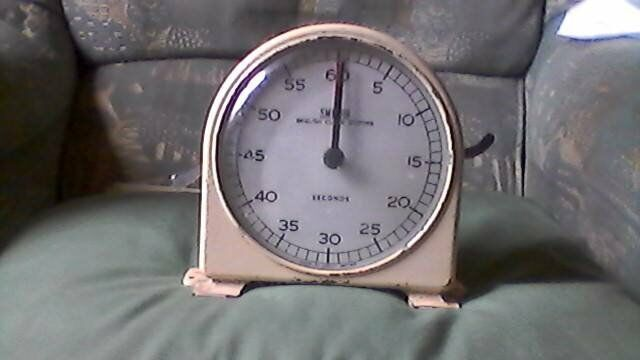 Vintage Smiths School Timer Clock