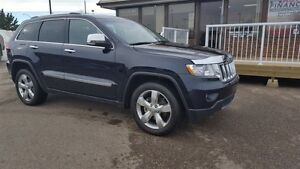 2011 Jeep Grand Cherokee Overland ONE OWNER LOCAL TRADE