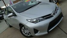 2014 Toyota Corolla ZRE182R Ascent Silver 7 Speed CVT Auto Sequential Hatchback Phillip Woden Valley Preview