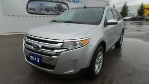 2013 Ford Edge SEL, Leather, Vista Roof, Nav, Local Trade In
