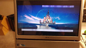 """23"""" acer all-in-one, quad core, 1.5 tb, 5gb ram, win 7"""