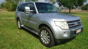 2007 Mitsubishi Pajero NS Exceed Cool Silver Metallic 5 Speed Sports Automatic Wagon Stuart Park Darwin City Preview