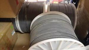 Deicing wire, Chromalox Thermwire melt, NEW, 1000' roll