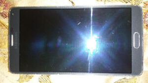 SAMSUNG GALAXY NOTE 4 32GB UNLOCKED GOOD CONDITION WITH CHARGER