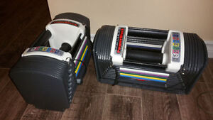 Powerblock Sport 5.0 with Expansion Kit = 5 lbs to 75 lbs