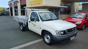 2003 Toyota Hilux RZN149R White 5 Speed Manual Cab Chassis Coopers Plains Brisbane South West Preview