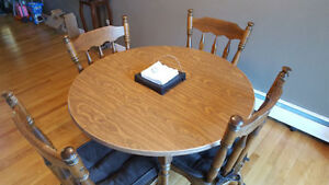 Solid Wood Dinner Table