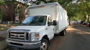 2008 Ford E-450 16 Ft Cube Van Only 176,000 Kms! *REDUCED*