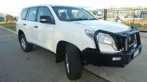 2014 Toyota Landcruiser Prado KDJ150R MY14 GX Glacier White 5 Speed Sports Automatic Wagon Bassendean Bassendean Area Preview