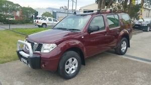 2005 Nissan Pathfinder R51 ST (4x4) Maroon 6 Speed Manual Wagon Macquarie Hills Lake Macquarie Area Preview